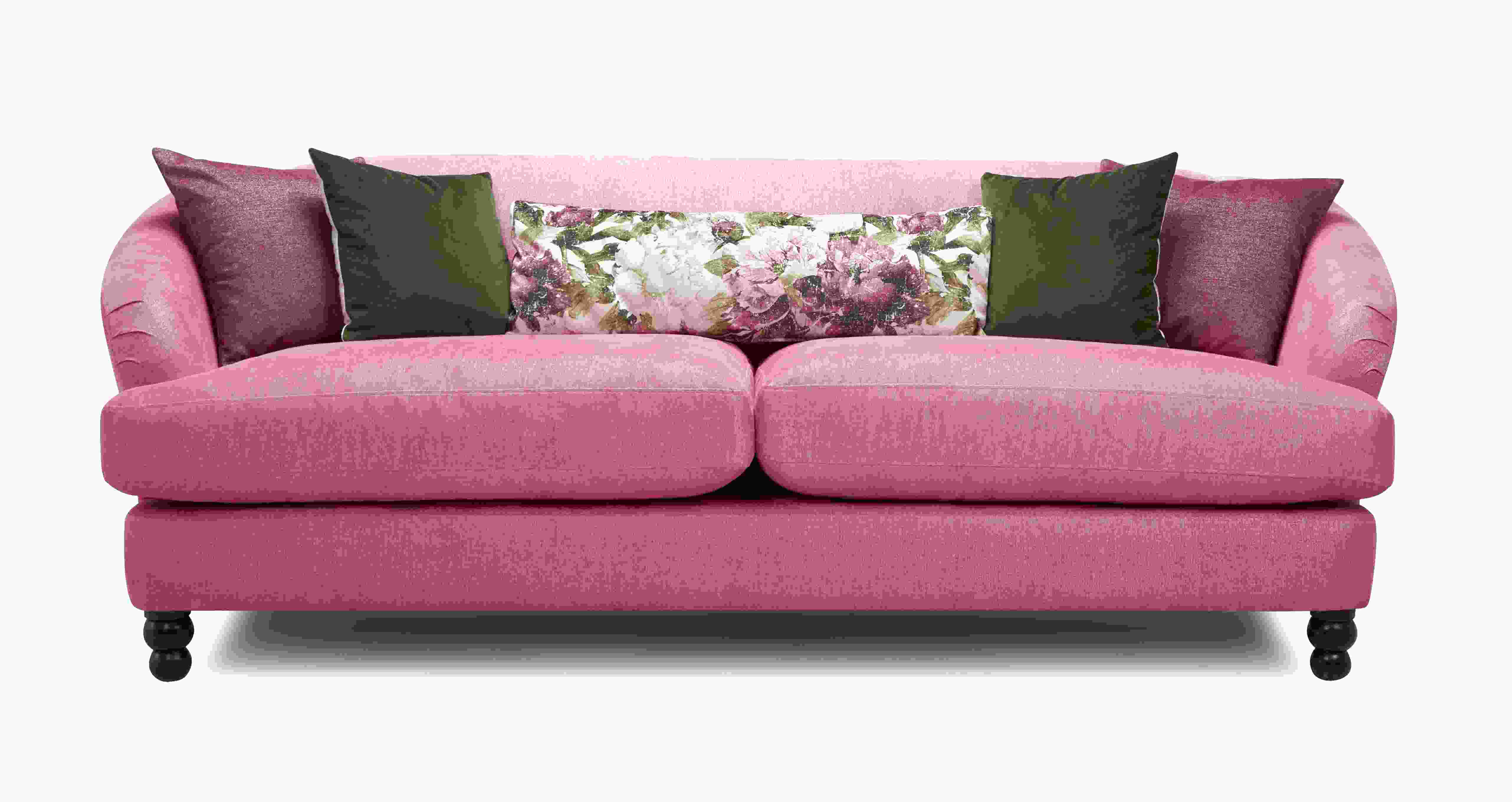 pink sofa dfs for sale