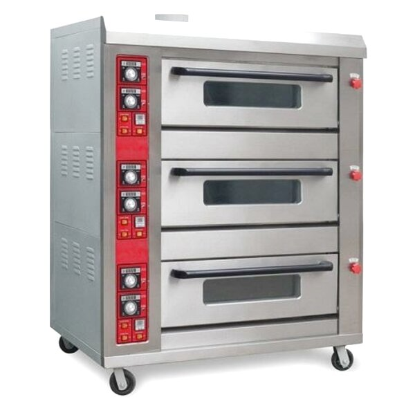gas deck oven for sale