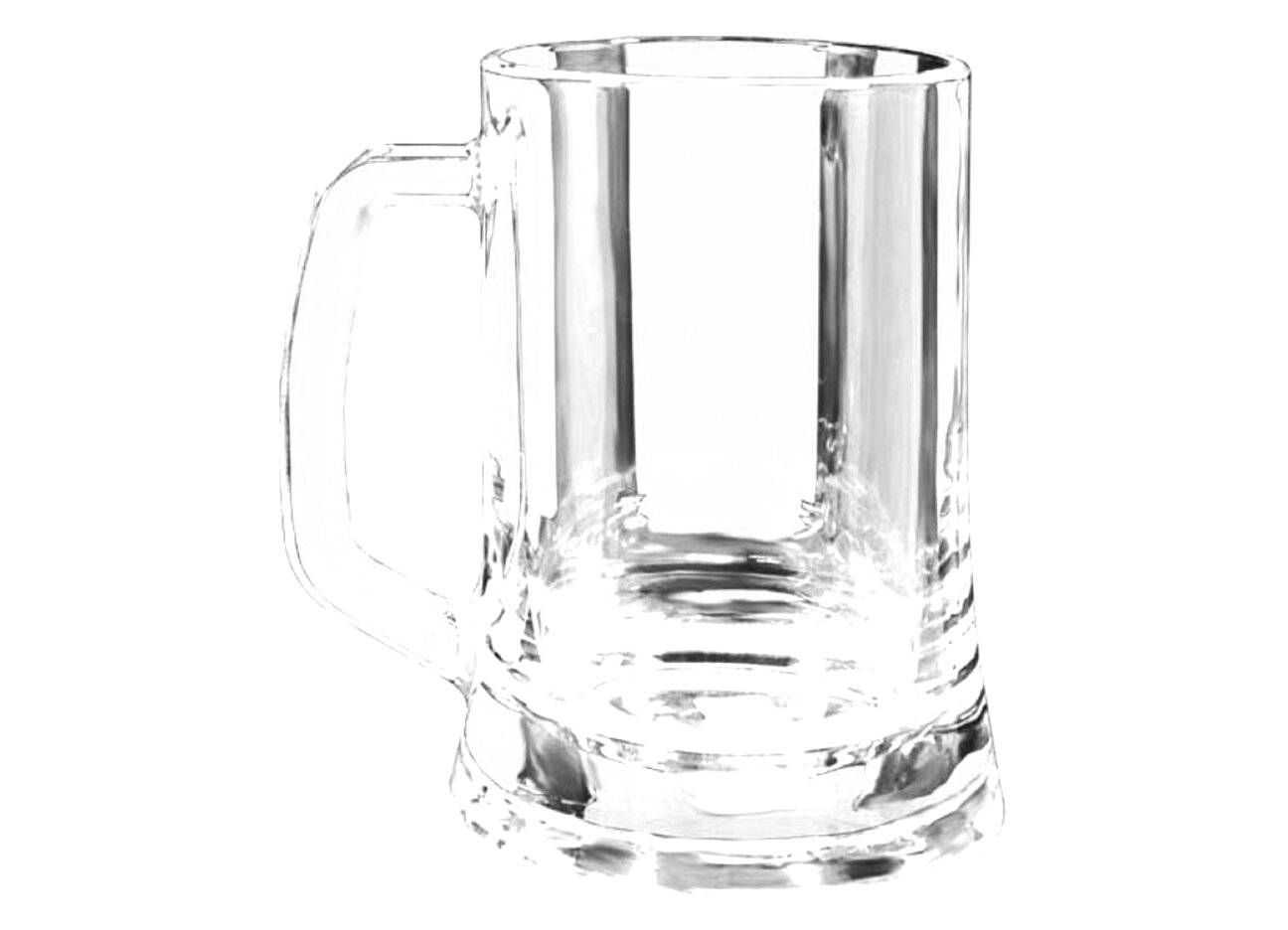 glass tankards for sale