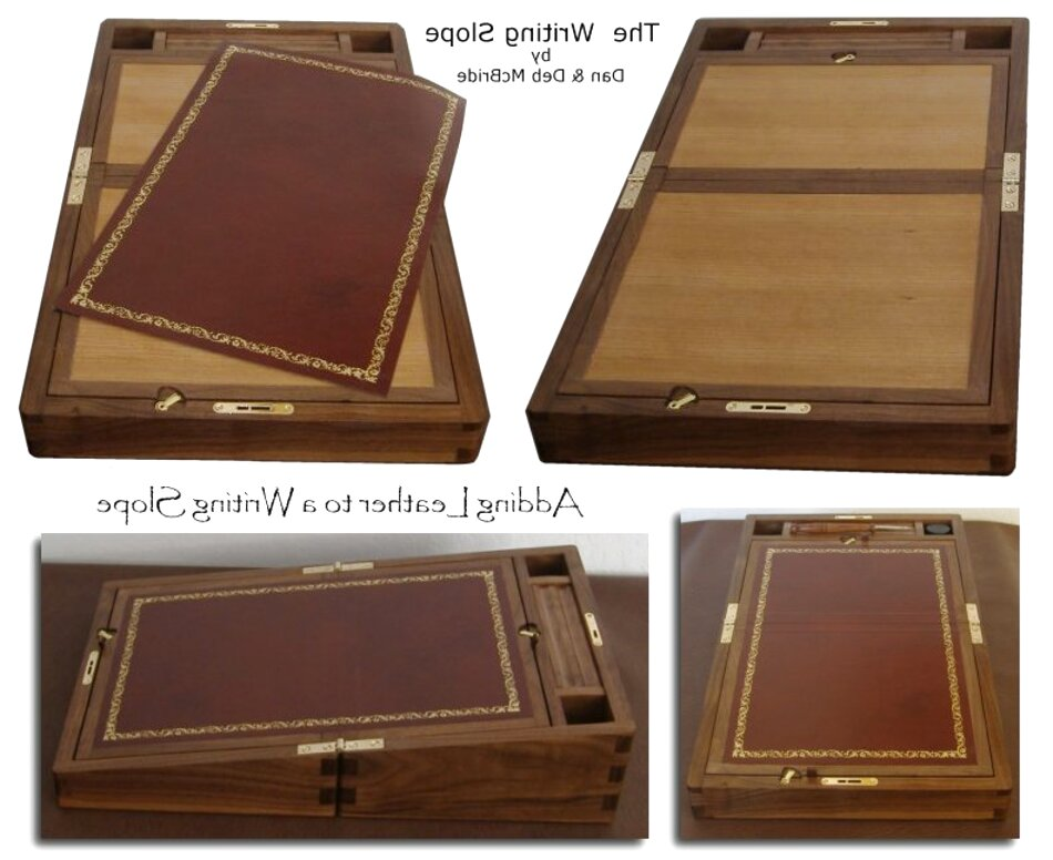 writing slope leather for sale