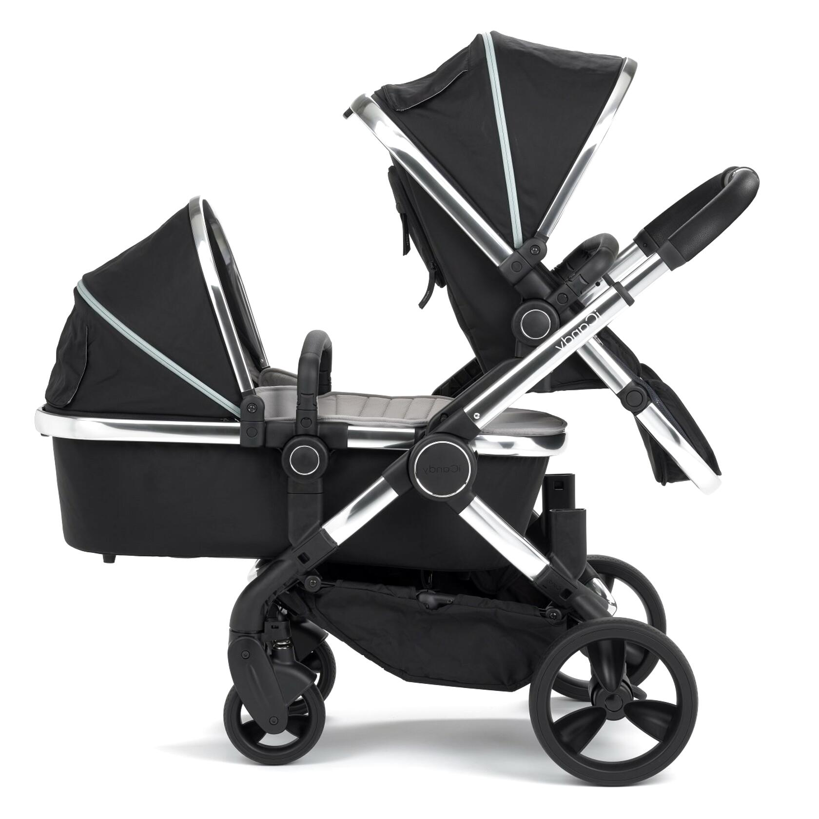 icandy double pram for sale