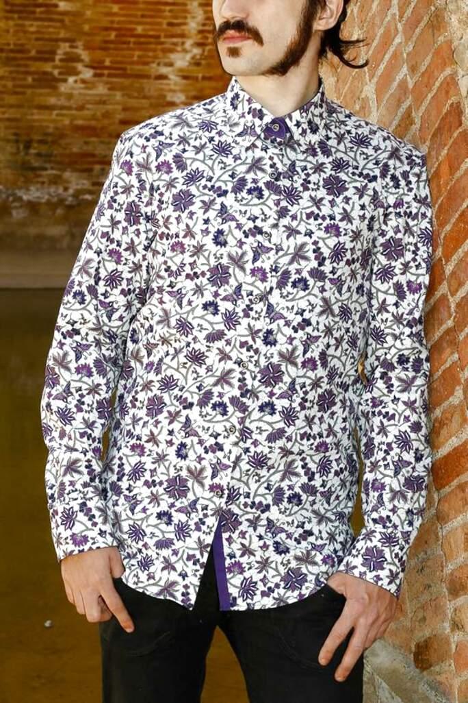 mens batik shirt for sale