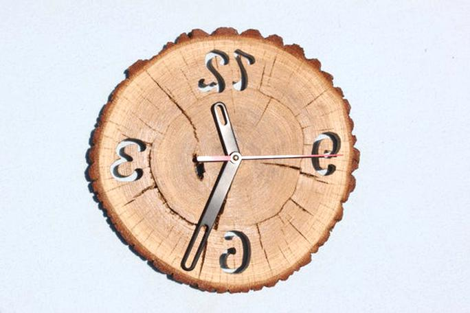 oak clock for sale