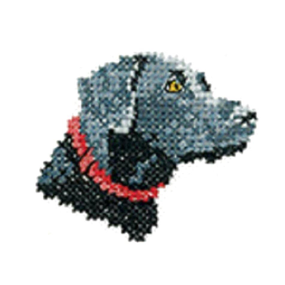 labrador cross stitch for sale