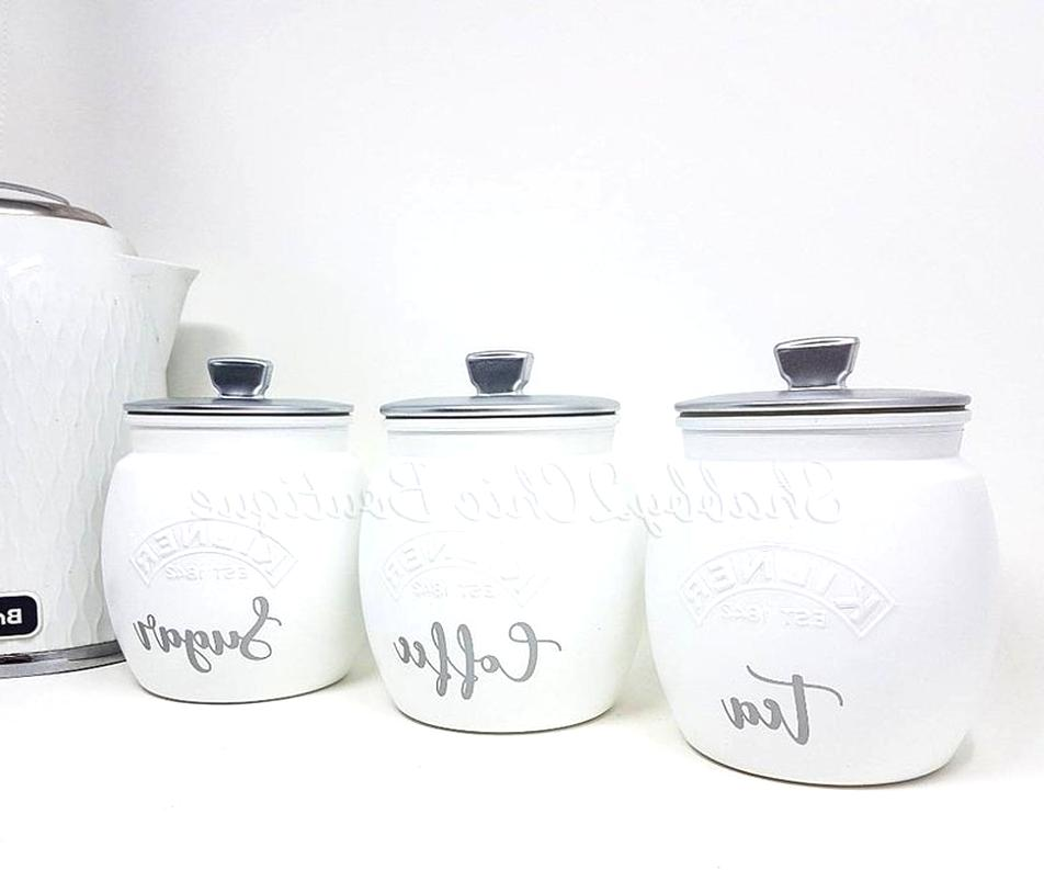 Tea Coffee Sugar Canisters For Sale In Uk View 86 Ads