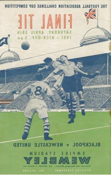 fa cup final programmes for sale