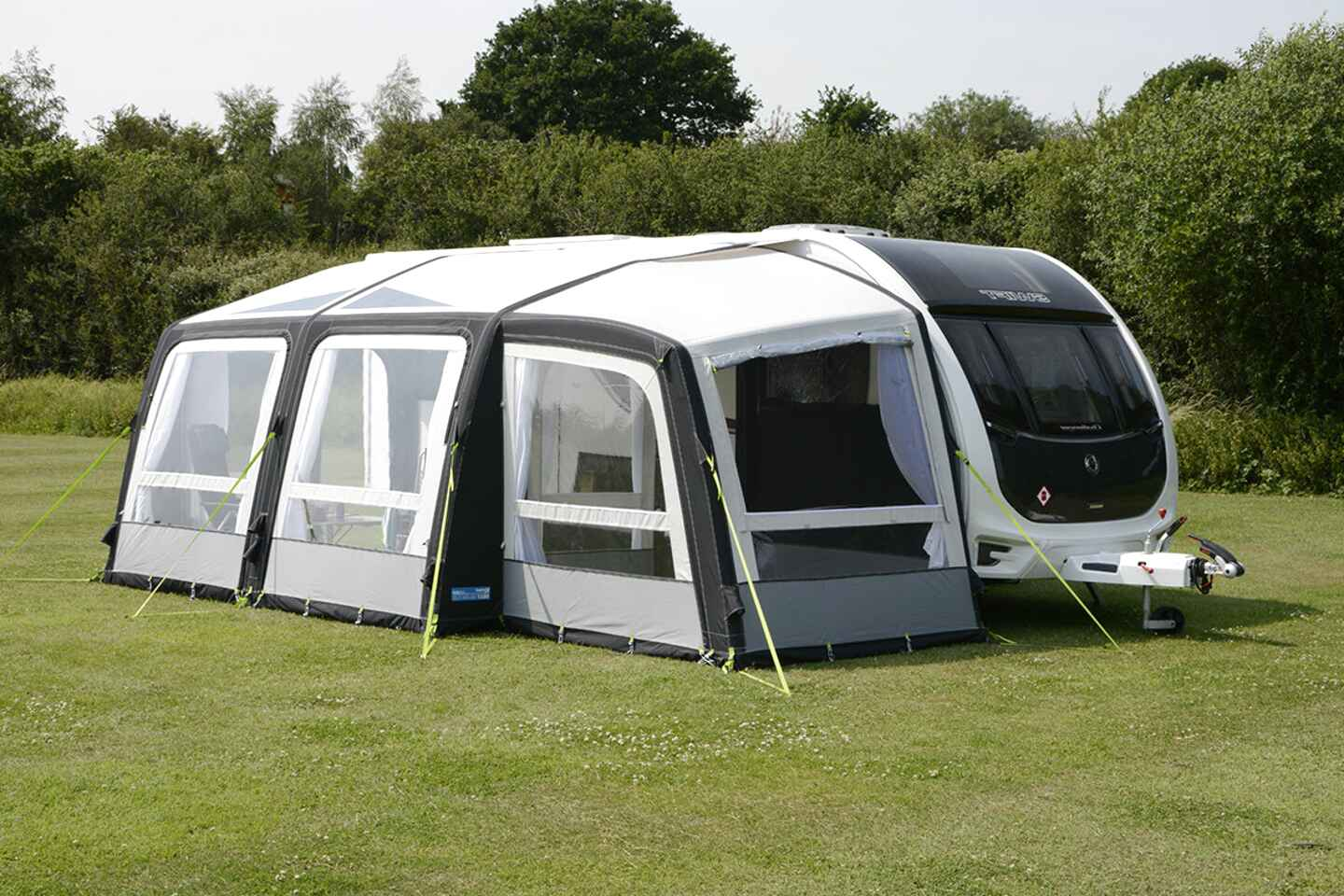 kampa rally pro air 390 awning for sale