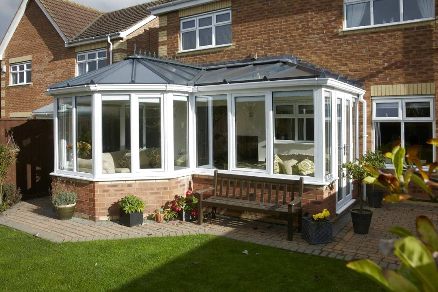 p shape conservatory for sale