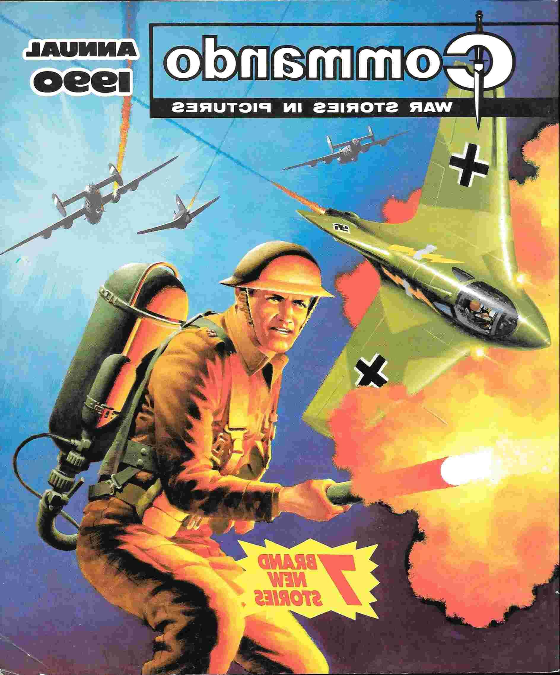 commando annual for sale