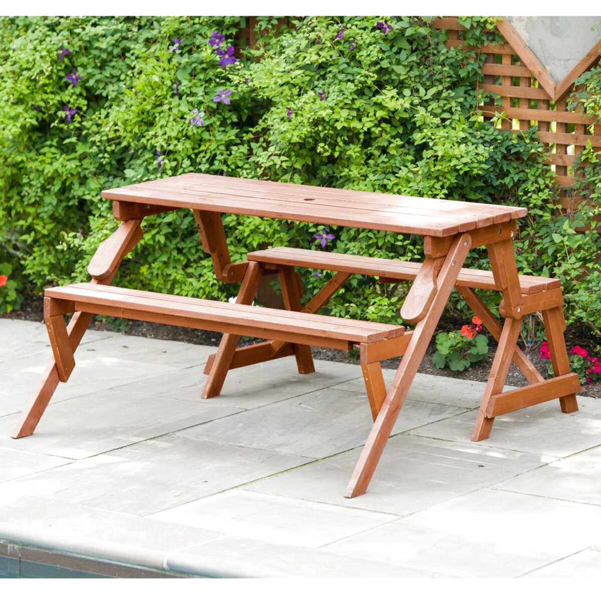 Wooden Folding Picnic Table For Sale In Uk View 69 Ads