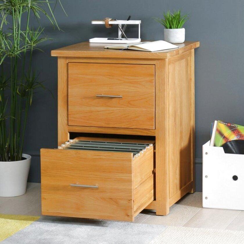 oak filing cabinet 2 drawer for sale