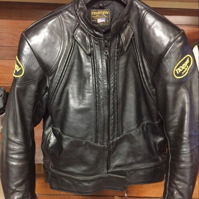 vanson leather jacket for sale