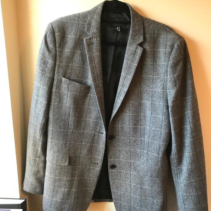 h m elbow blazers for sale