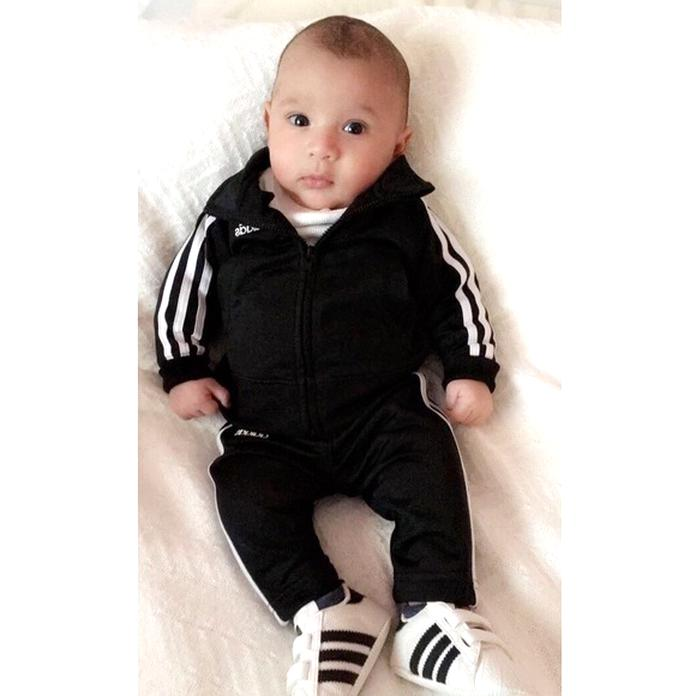 newborn adidas jumpsuit Shop Clothing