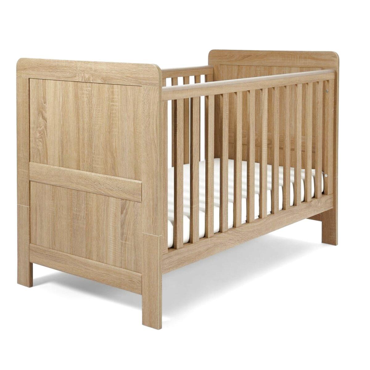 oak cot for sale