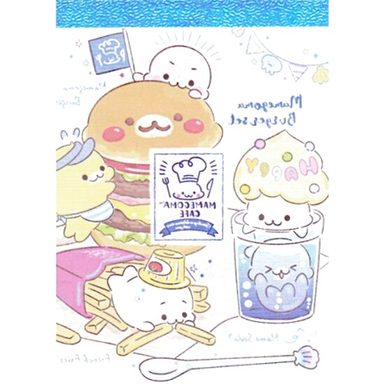Majo /& Sady Check List Sticky Notes kawaii bunny rabbit cute cartoon memo pad