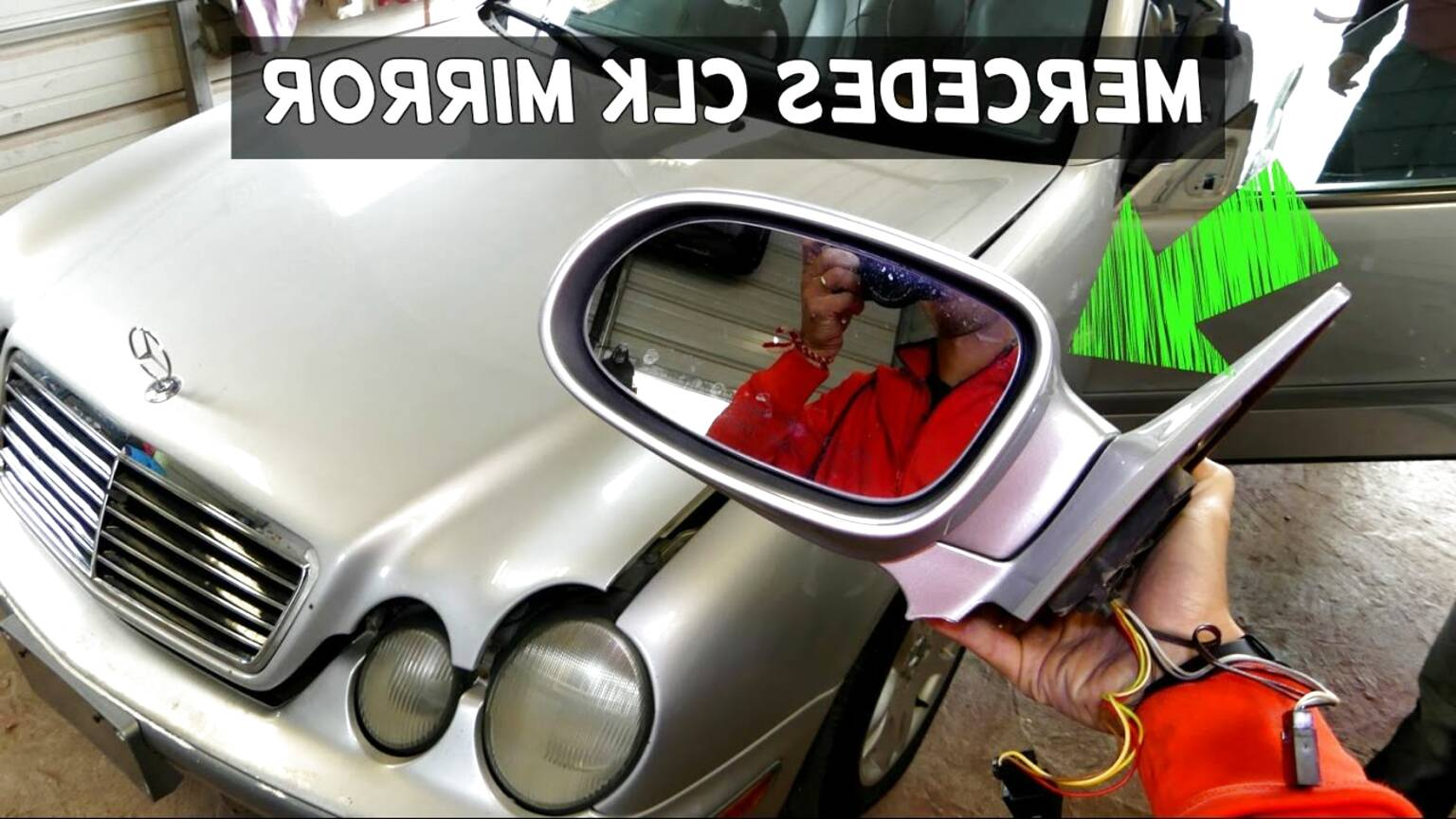 Rear View Mirror Light Clk W209 Ry 2003-2009 Left 2308200721