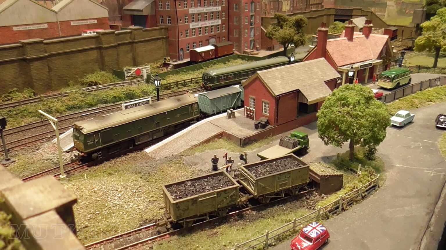 n gauge model railway layout for sale