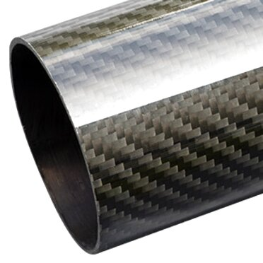 1 M UK Stock~ 3k Carbon Fiber Tube Roll Wrapped 1x OD 14mm x ID 12mm x 1000mm