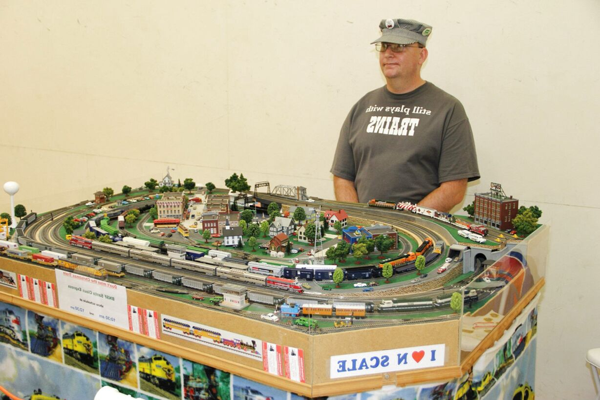 n scale trains for sale