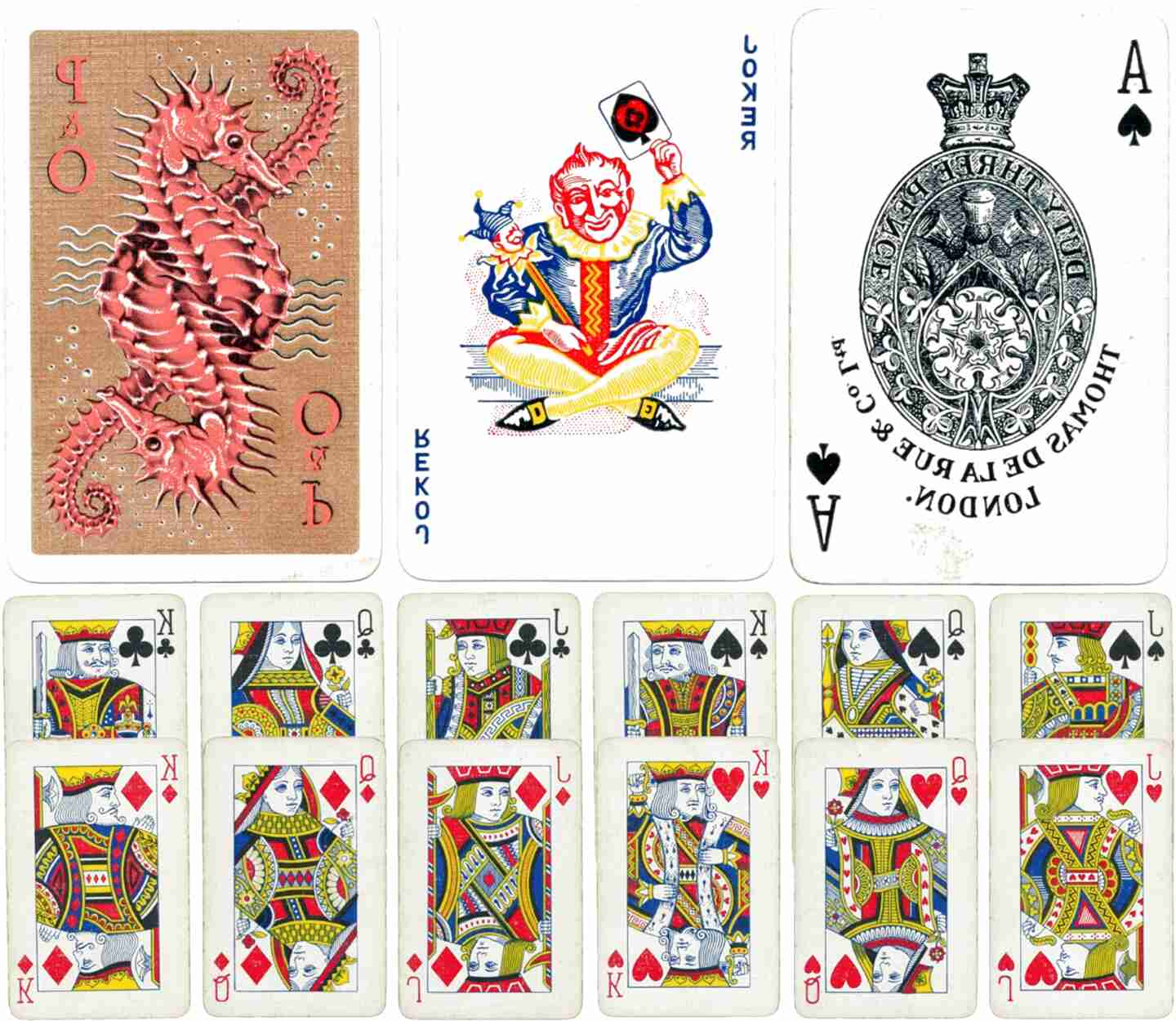 la rue playing cards for sale