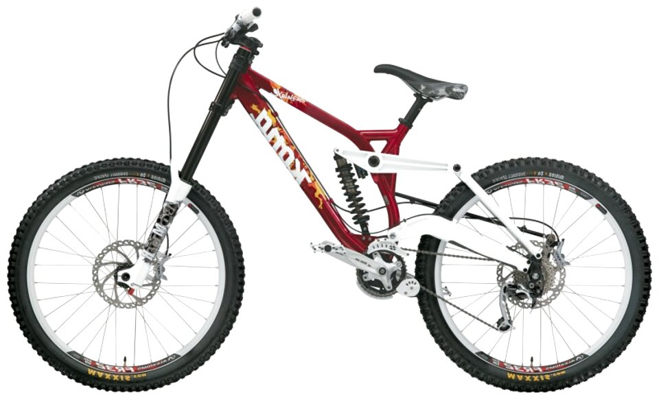 Retro Classics 2000 Kona Stab Primo T-shirt MTB Bike Ninja
