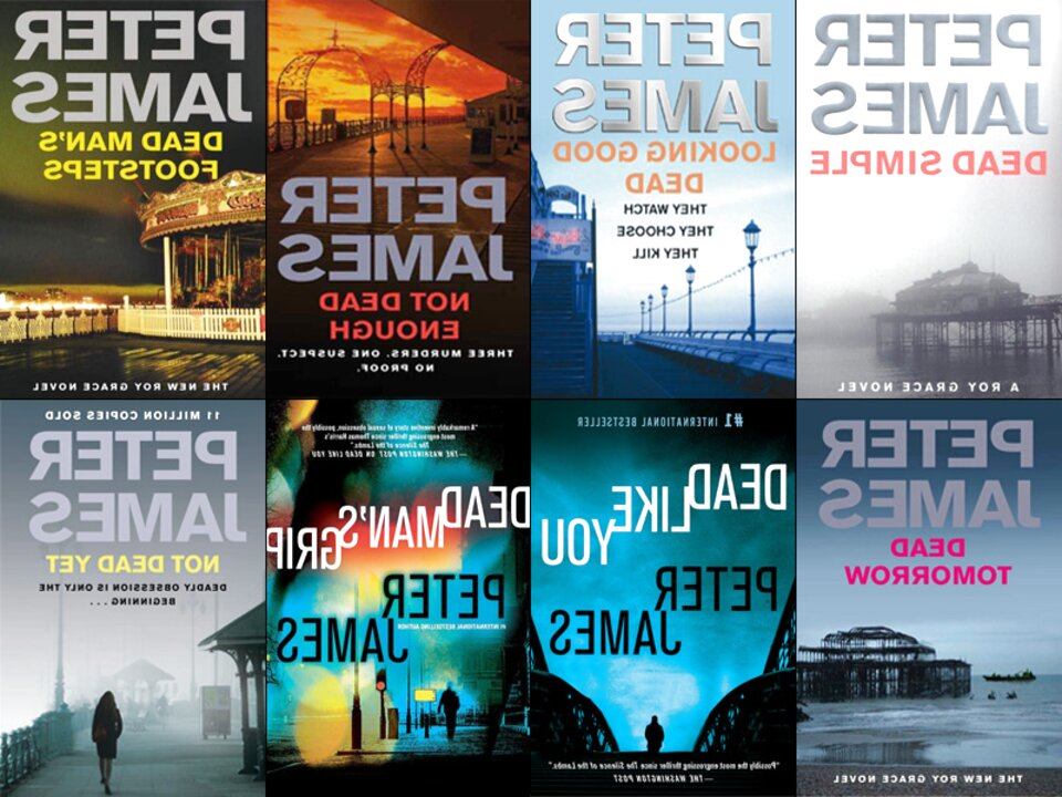 peter james books for sale