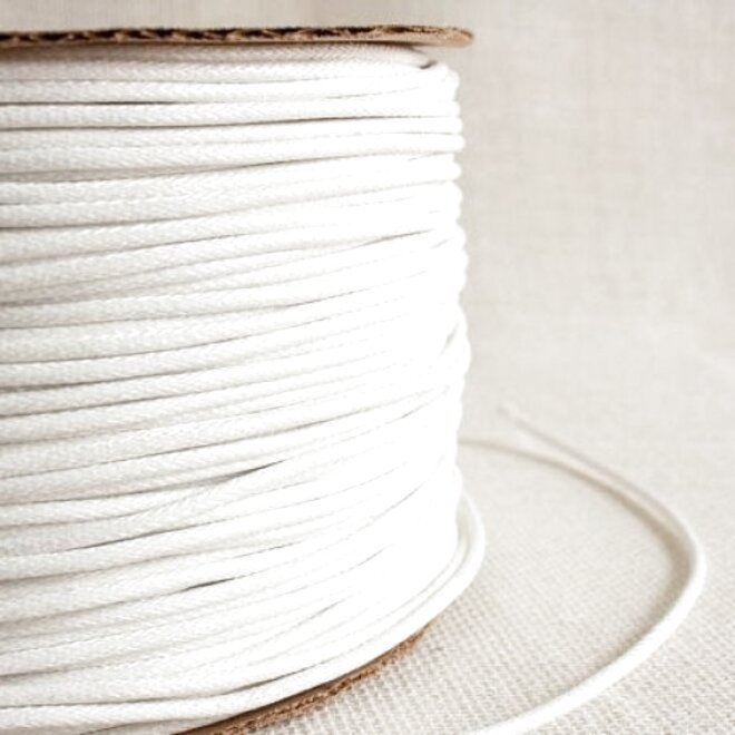 5mm Smooth upolstery piping cord 100/% cotton pre shrunk varoius lengths