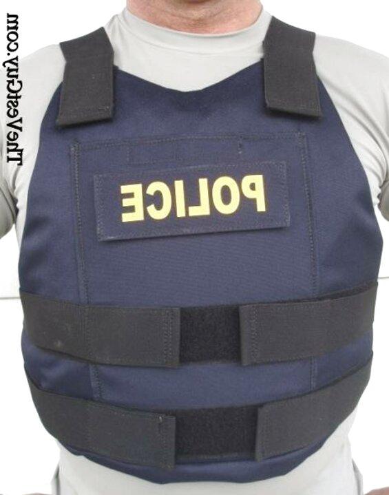 Ex Police Black Hawk Klickfast Body Armour Stab Vest Bullet Proof Pockets