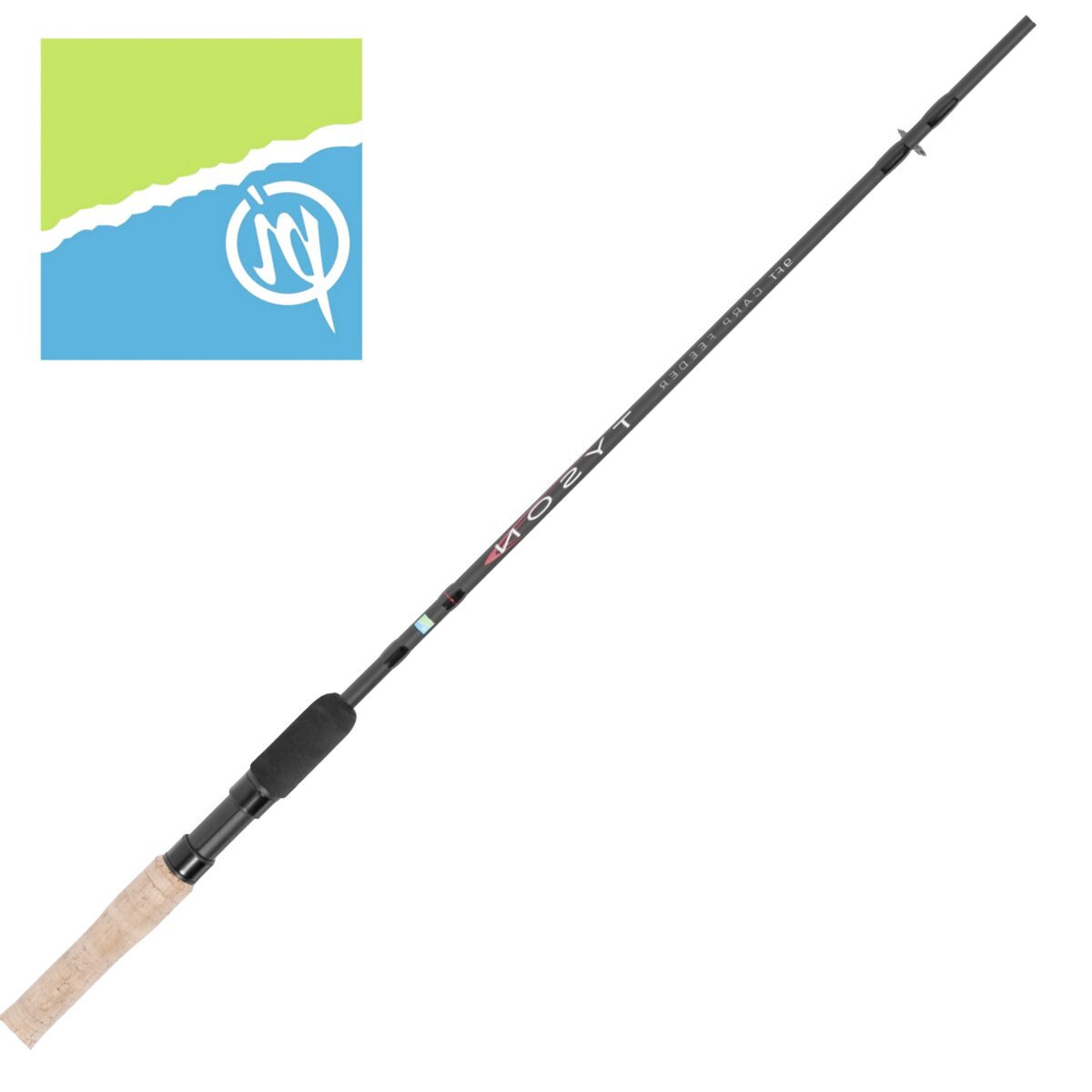 """Middy Battlezone 10/'6/"""" Waggler Rod 2pc Fishing RRP £49.99"""