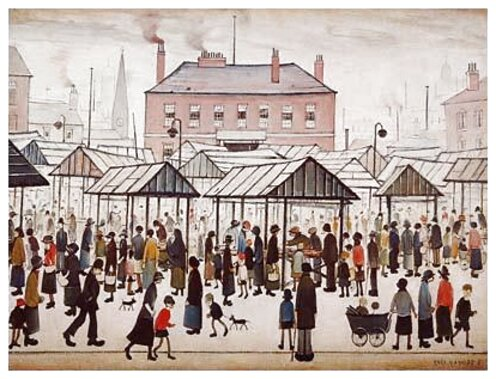 l s lowry postcards for sale