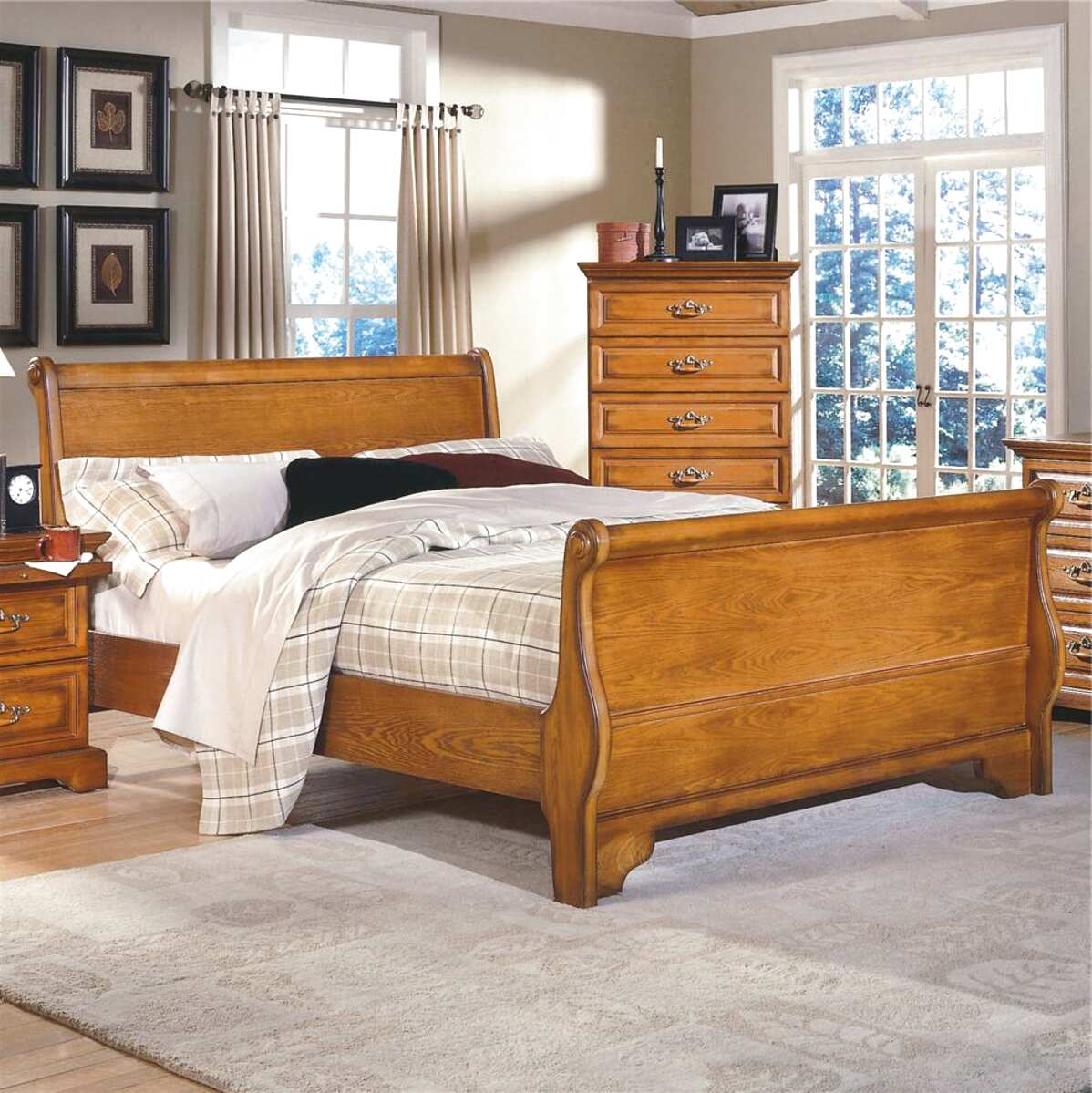 Picture of: Oak Sleigh Bed For Sale In Uk 27 Used Oak Sleigh Beds