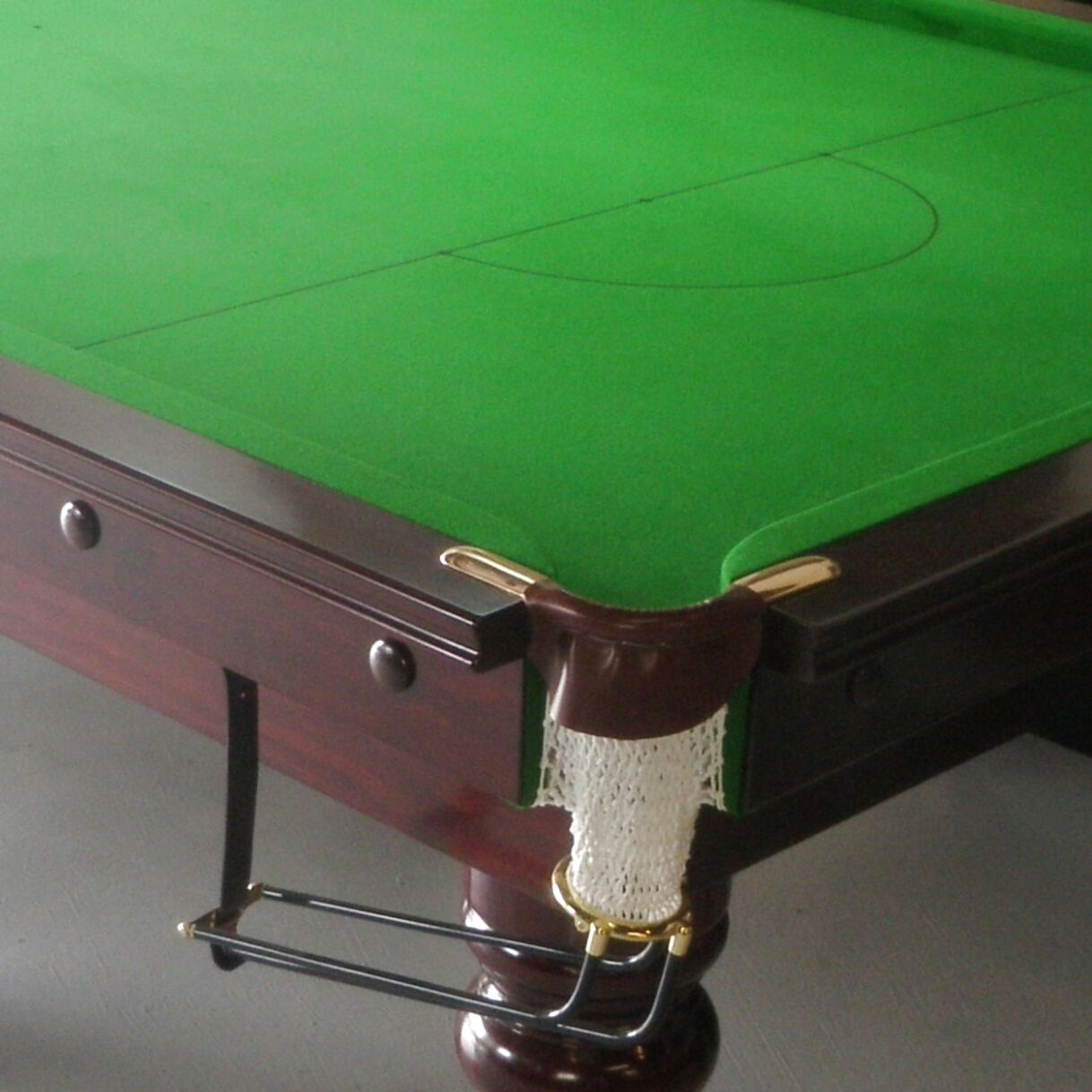 6Pcs//Set Billiard Pool Table Cotton Mesh Net Bags Pockets Accessory White 1