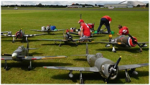 Rc Warbird for sale in UK | 27 second-hand Rc Warbirds