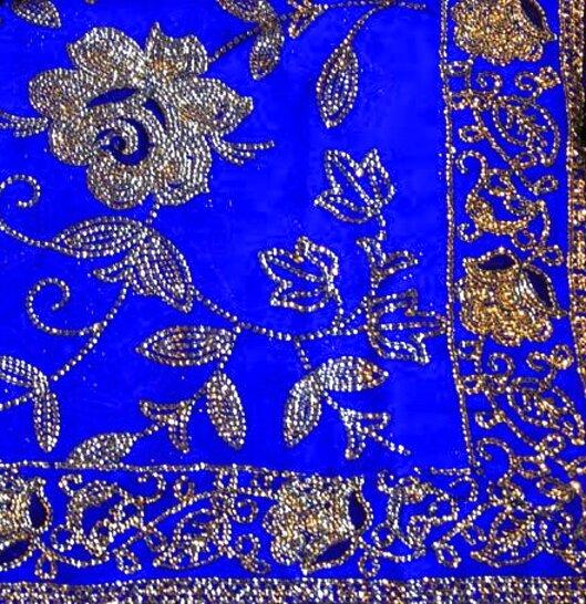 indian sari fabric for sale