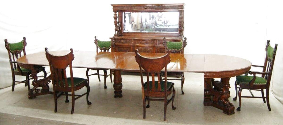 oak dining room suites for sale