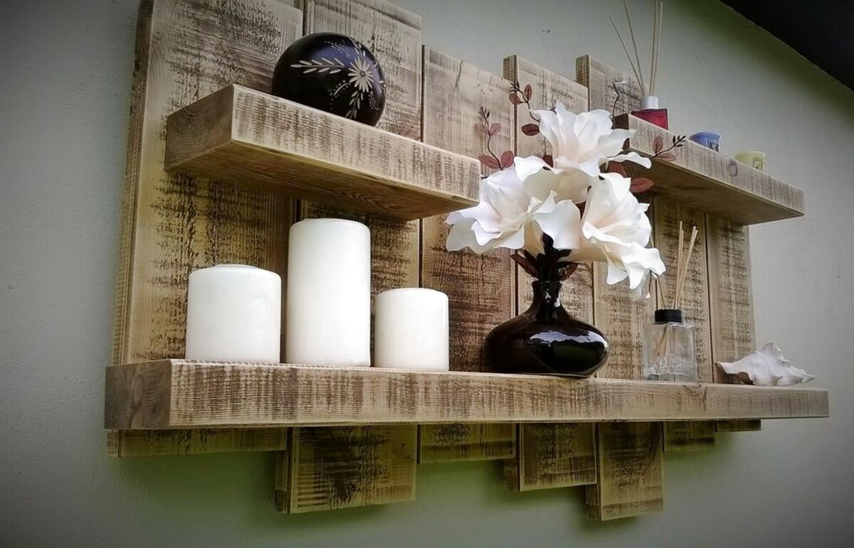 oak floating wall shelves for sale