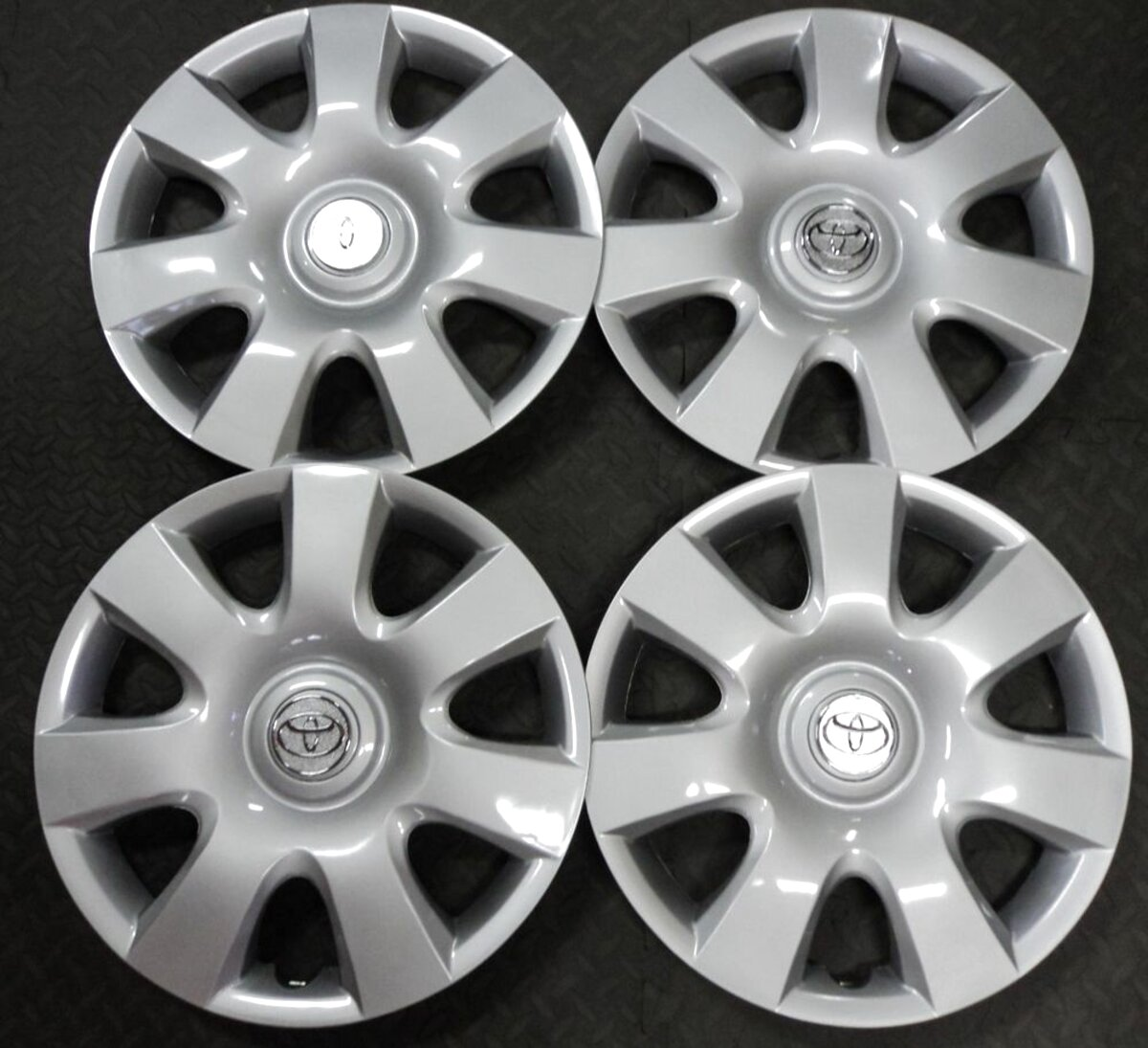"14/"" Universal GTX Wheel Cover Hub Caps x4 Ideal For Vauxhall Astra"