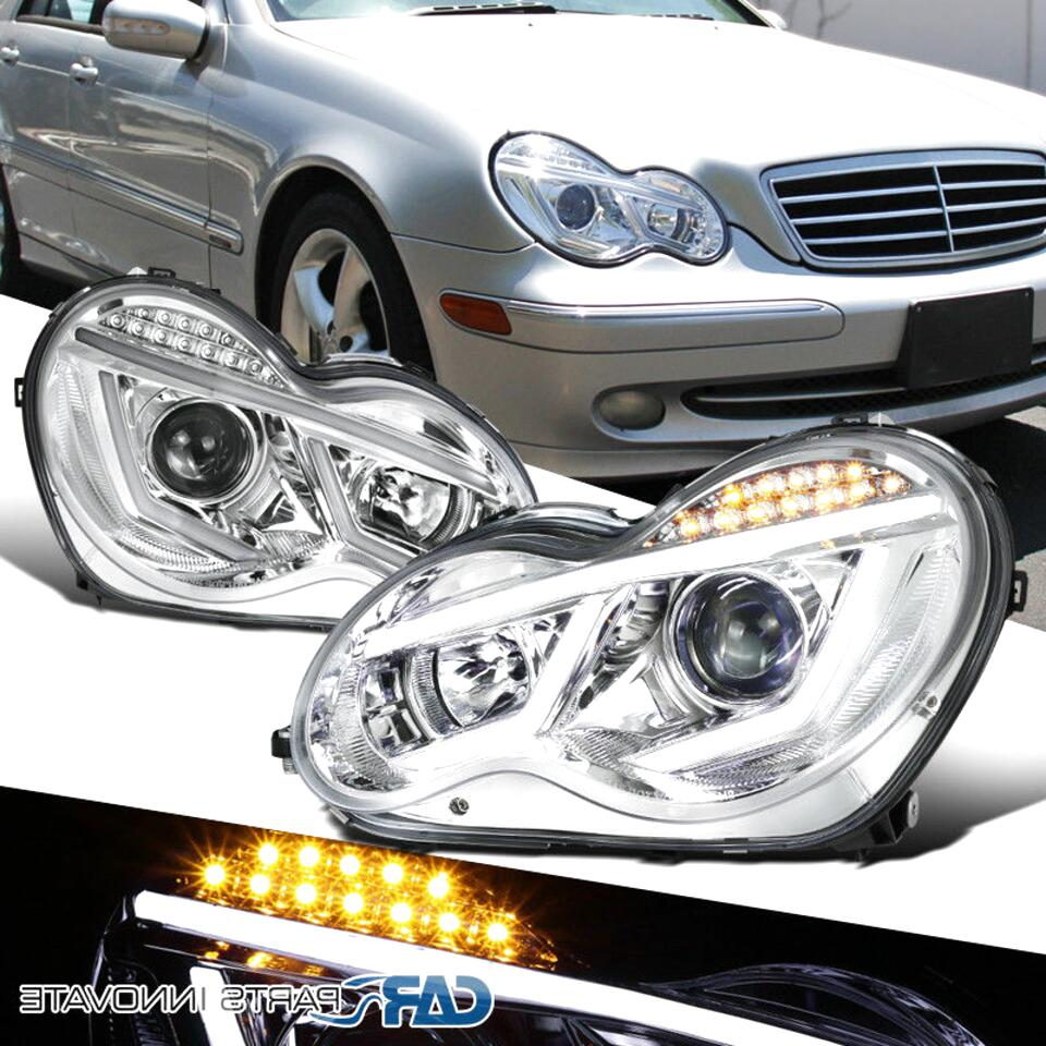 w203 front lights for sale