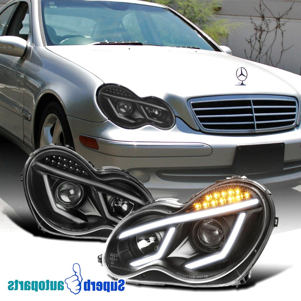 w203 head lights for sale