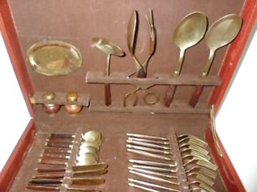 bronze canteen cutlery for sale