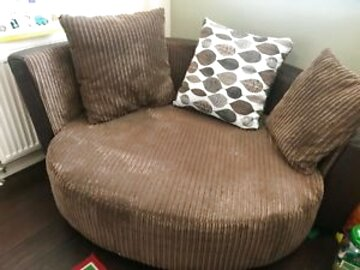 brown cuddle chair for sale