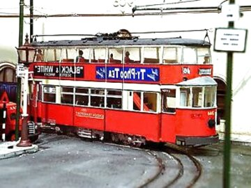 O Gauge card kits Glasgow Corporation Trams But /& Ben Stone car. Baillie Burtt