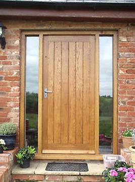 oak front door for sale