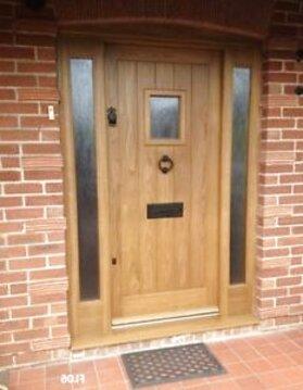 oak front doors for sale