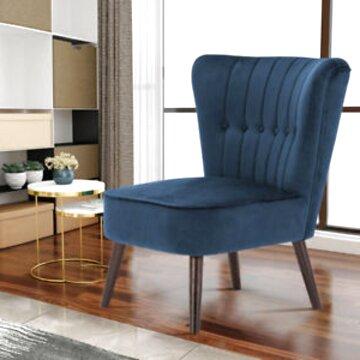 velour armchair for sale