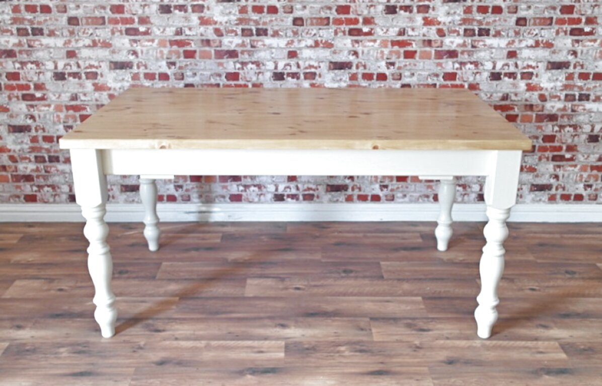 extending pine table for sale