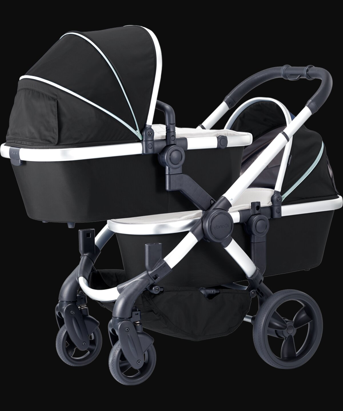 icandy twin pram for sale