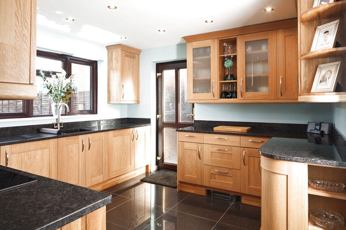 oak kitchen units for sale