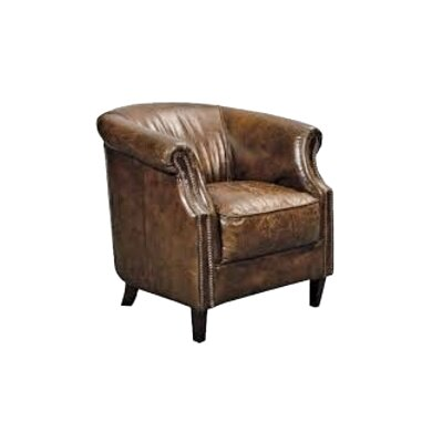 small leather armchair for sale